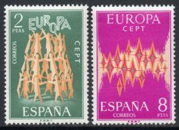 Poštovní známky Španìlsko 1972 Evropa CEPT Mi# 1985-86