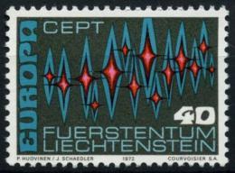 Poštovní známka Lichtenštejnsko 1972 Evropa CEPT Mi# 564
