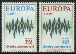 Poštovní známky Turecko 1972 Evropa CEPT Mi# 2253-54