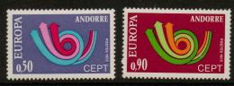 Poštovní známky Andorra Fr. 1973 Evropa CEPT Mi# 247-48 Kat 20€