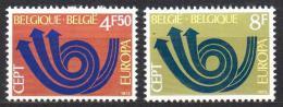 Poštovní známky Belgie 1973 Evropa CEPT Mi# 1722-23