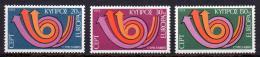 Poštovní známky Kypr 1973 Evropa CEPT Mi# 389-91