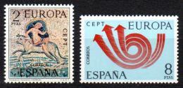 Poštovní známky Španìlsko 1973 Evropa CEPT Mi# 2020-21