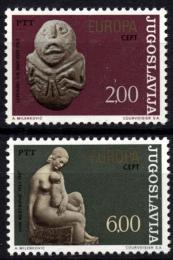Poštovní známky Jugoslávie 1974 Evropa CEPT Mi# 1557-58