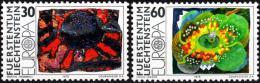 Poštovní známky Lichtenštejnsko 1975 Evropa CEPT Mi# 623-24