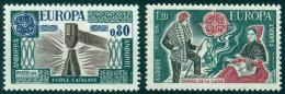Poštovní známky Andorra Fr. 1976 Evropa CEPT Mi# 274-75