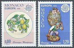 Poštovní známky Monako 1976 Evropa CEPT Mi# 1230-31