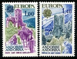 Poštovní známky Andorra Fr. 1977 Evropa CEPT Mi# 282-83 Kat 15€