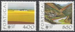 Poštovní známky Portugalsko 1977 Evropa CEPT Mi# 1360-61