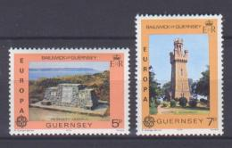Poštovní známky Guernsey 1978 Evropa CEPT Mi# 161-62