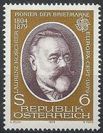 Poštovní známka Rakousko 1979 Evropa CEPT Mi# 1608