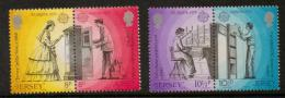 Poštovní známky Jersey 1979 Evropa CEPT Mi# 192-95