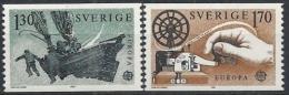 Poštovní známky Švédsko 1979 Evropa CEPT Mi# 1058-59