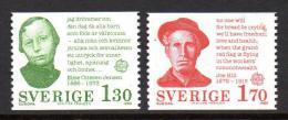 Poštovní známky Švédsko 1980 Evropa CEPT Mi# 1106-07