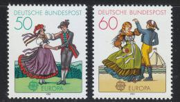 Poštovní známky Nìmecko 1981 Evropa CEPT Mi# 1096-97