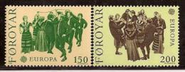 Poštovní známky Faerské ostrovy 1981 Evropa CEPT Mi# 63-64