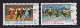 Poštovní známky Turecko 1981 Evropa CEPT Mi# 2546-47