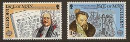 Poštovní známky Ostrov Man 1982 Evropa CEPT Mi# 213-14