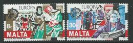 Poštovní známky Malta 1982 Evropa CEPT Mi# 661-62