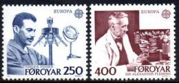 Poštovní známky Faerské ostrovy 1983 Evropa CEPT Mi# 84-85