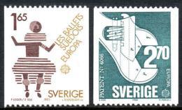 Poštovní známky Švédsko 1983 Evropa CEPT Mi# 1237-38