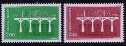 Poštovní známky Andorra Fr. 1984 Evropa CEPT Mi# 350-51 Kat 8€
