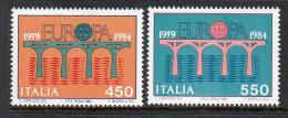 Poštovní známky Itálie 1984 Evropa CEPT Mi# 1886-87