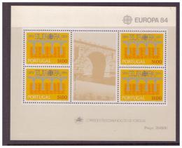 Poštovní známky Portugalsko 1984 Evropa CEPT Mi# Block 43 Kat 11€
