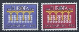 Poštovní známky San Marino 1984 Evropa CEPT Mi# 1294-95