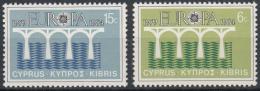 Poštovní známky Kypr 1984 Evropa CEPT Mi# 611-12