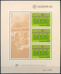 Poštovní známky Madeira 1984 Evropa CEPT Mi# Block 5