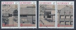 Poštovní známky Guernsey 1987 Evropa CEPT Mi# 389-92