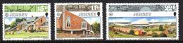 Poštovní známky Jersey 1987 Evropa CEPT Mi# 405-07