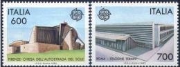 Poštovní známky Itálie 1987 Evropa CEPT Mi# 2010-11