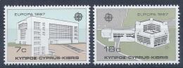 Poštovní známky Kypr 1987 Evropa CEPT Mi# 681-82