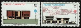 Poštovní známky Turecko 1987 Evropa CEPT Mi# 2777-78 Kat 18€