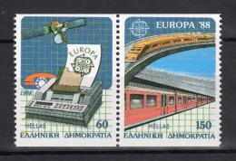 Poštovní známky Øecko 1988 Evropa CEPT Mi# 1685-86 C Kat 17€