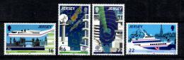 Poštovní známky Jersey 1988 Evropa CEPT Mi# 435-38