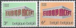 Poštovní známky Belgie 1969 Evropa CEPT Mi# 1546-47