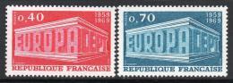 Poštovní známky Francie 1969 Evropa CEPT Mi# 1665-66