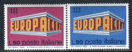 Poštovní známky Itálie 1969 Evropa CEPT Mi# 1295-96