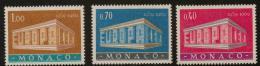 Poštovní známky Monako 1969 Evropa CEPT Mi# 929-31