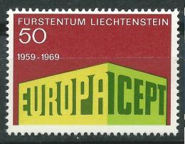 Poštovní známka Lichtenštejnsko 1969 Evropa CEPT Mi# 507