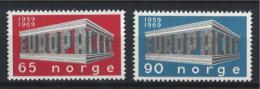 Poštovní známky Norsko 1969 Evropa CEPT Mi# 583-84