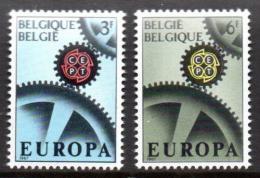 Poštovní známky Belgie 1967 Evropa CEPT Mi# 1472-73