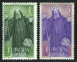 Poštovní známky Španìlsko 1965 Evropa CEPT Mi# 1565-66