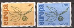 Poštovní známky Itálie 1965 Evropa CEPT Mi# 1186-87