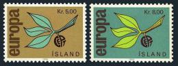 Poštovní známky Island 1965 Evropa CEPT Mi# 395-96
