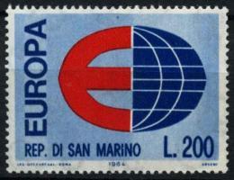 Poštovní známka San Marino 1964 Evropa CEPT Mi# 826