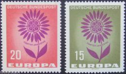 Poštovní známky Nìmecko 1964 Evropa CEPT Mi# 445-46